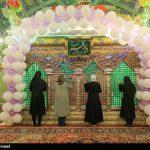 تصاویر ولادت حضرت رقیه (س) در دمشق